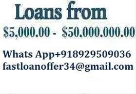 URGENT LOAN OFFER CONTACT WHATSAPP 918929509036